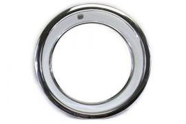 1969-1982 Corvette Rally Wheel Trim Ring (Stainless)