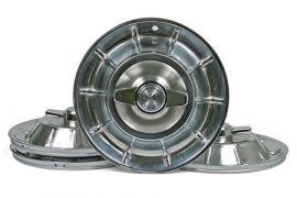 1956-1958 Corvette Hubcap Set w/Spinners