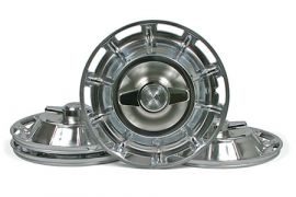1959-1962 Corvette Hubcap Set w/Spinners