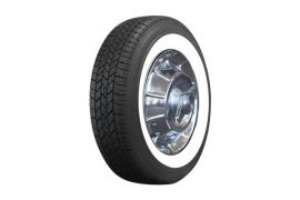 56-61 205/75-R15 Classic Radial Tire (2 3/8in Whitewall)
