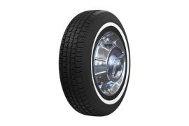 62-67 205/75-R15 American Classic Radial Tire (1in Whitewall)