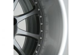 Forgeline Option B - Brushed W/Clear Wheel Lip