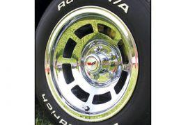 76-82 Chrome Aluminum Wheels (Default)