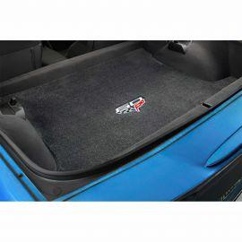 2013 Corvette Conv Lloyd Velourtex Cargo Mat w/60th Logo (60th above flags)