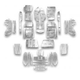 68-75 Cpe Flatline Barrier Full Car Insulation Kit (Floor, Cargo, Doors, T-top)