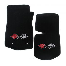 68-76 Lloyd Ultimat Floor Mats w/ Cross Flag Emblem