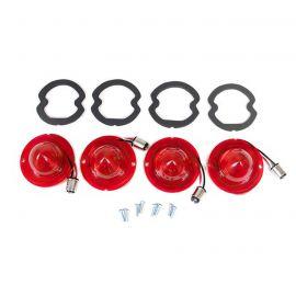 61-67 LED Tail Lamp Lens & Gasket Set