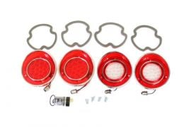 69-73 LED Tail Lamp & Back-Up Lamp Lens & Gasket Set