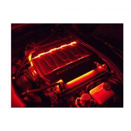 14-19 RGB Engine Fuel Rail Cover LED Lighting Kit (Bluetooth Control)