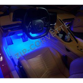 20-21 Interior Footwell LED Lighting Kit (Single Color)