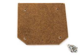 56-57 Heater Delete Radiator Support Block-Off Plate