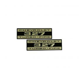62-63 Valve Cover Embossed Turbo-Fire Decals