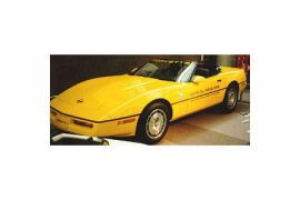 86 Pace Car Decal Set (Gold OPC w/Gold 70th)