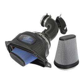 14-19 LT1 aFe Carbon Fiber Cold Air Intake System (Dual Media)