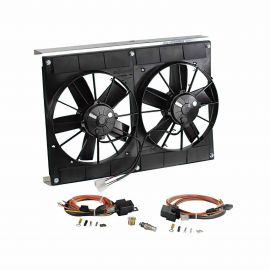 05-13 Direct Fit Radiator SPAL Dual Fan Cooling System Upgrade