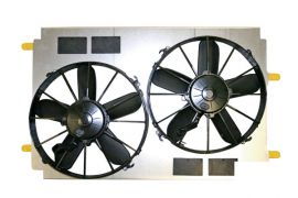 97-04 SPAL Dual 12in Electric Fan Cooling System Upgrade
