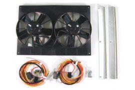 66-82 Dual 11in SPAL Fan Package