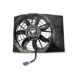 05-13 SPAL Brushless 17in Electric Fan Upgrade w/Custom Shroud (Short Radiator)