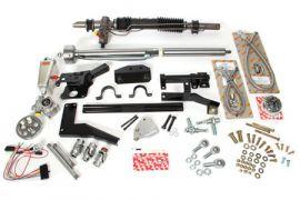 1953-1957 Corvette Steeroids Rack & Pinion Kit - Power (Paintable Column)
