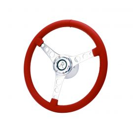 """53-62 15"""" Leather Steering Wheel"""
