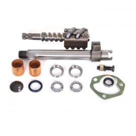 63-69E Steering Box Rebuild Kit w/Pitman Shaft & Worm Gear Assembly