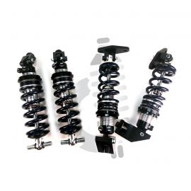 88-96 Front & Rear Coilover System (Single Adjustable - Aggressive Springs)