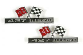 "1966 Corvette ""427"" Side Emblems"