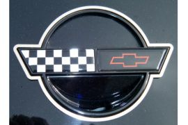 91-96 Front & Rear Emblem Stainless Rings
