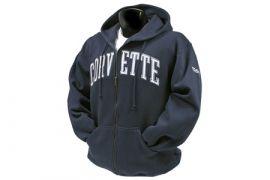 Full-Zip Applique Hooded Sweatshirt