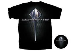 Black Corvette Stingray T-Shirt