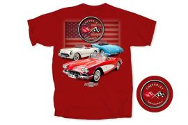 C1 American Corvette T-shirt