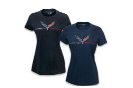 Ladies' C7 Grand Sport Foil Heather Tee