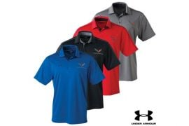 Men's C7 Corvette Under Armour Tech Polo