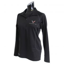 Ladies 2020 Corvette Eddie Bauer 1/2 Zip Pullover