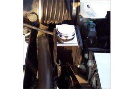 1997-2013 Corvette Stainless Power Steering Reservoir Cover