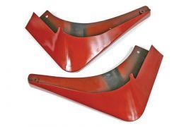 2005-2013 Corvette Altec Rear Splash Guards (Colors)