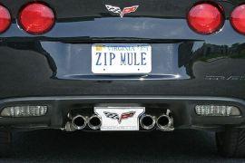 05-13 Billet Rear Exhaust Enhancement Plate