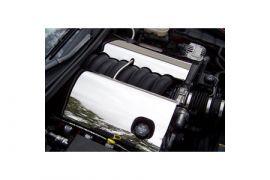2005-2007 Corvette LS2 Stainless 2pc Fuel Rail Covers