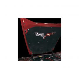 1997-2013 Corvette Hood Insulator ABS Chrome Fasteners