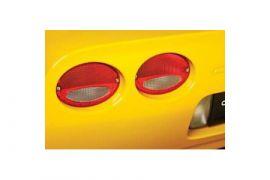 1997-2004 Corvette Euro Tail Light Kit - Red/Clear