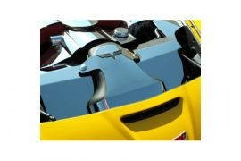2006-2013 Corvette LS3/LS7 Stainless 2pc Air Intake Cover
