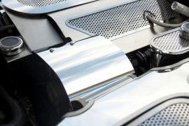 1997-2004 Corvette Stainless Polished Alternator Cover