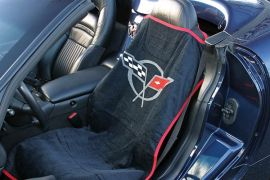 97-04 Seat Armour Cover w/C5 Emblem