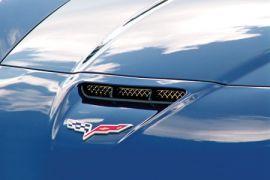 2006-2013 Corvette Z06/GS Laser Mesh Stainless Hood Vent Grill