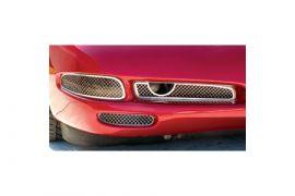 1997-2004 Corvette Laser Mesh Stainless Fog Light Grills