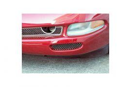 1997-2004 Corvette Laser Mesh Stainless Front Brake Duct Grills