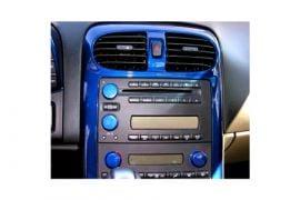 2005-2007 Corvette w/o Nav Aluminum Dash Knobs - Painted