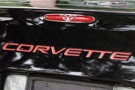 1997-2004 Corvette C5 Flag Style Stainless 5th Brake Light Grill