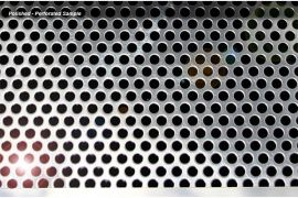 05-13 Perforated Stainless Exhaust Port Filler Panel - 4in Dual Corsa