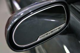 "2005-2013 Corvette Exterior Mirror Stainless Trim w/""Corvette"" (Auto Dim Mirror)"